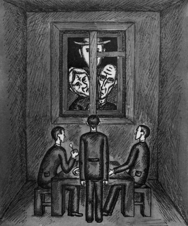 Franz Kafka. The Trial, 1965, drawing on paper, 18,5x15,5cm.jpg